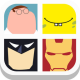 Close Up Character - A quiz where you guess the hidden movie character name from zoomed in cartoon picture!