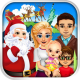 Mommy's Christmas Family Vacation - baby salon & makeover games!